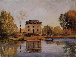 Reproduction oil paintings - Alfred Sisley - Factory in the Flood, Bougival