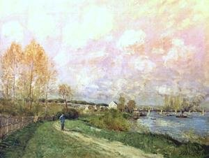 Reproduction oil paintings - Alfred Sisley - Summer at Bougival