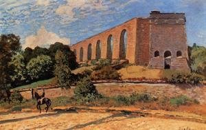 Reproduction oil paintings - Alfred Sisley - Aqueduct at Marly