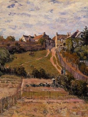 Reproduction oil paintings - Alfred Sisley - The Rising Path