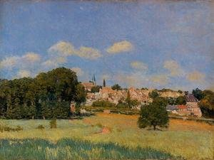 Reproduction oil paintings - Alfred Sisley - View of St. Cloud - Sunshine