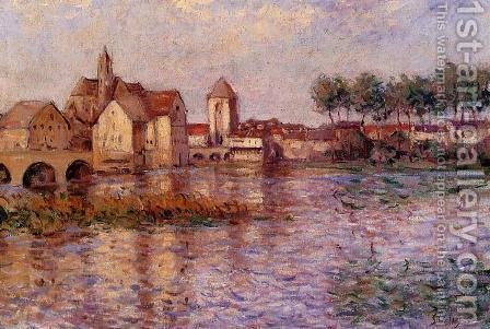 Moret-sur-Loing II by Alfred Sisley - Reproduction Oil Painting