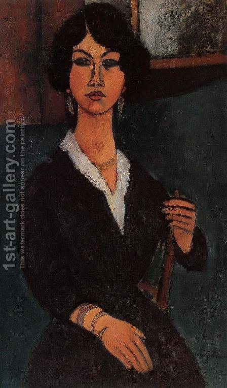 Almaisa by Amedeo Modigliani - Reproduction Oil Painting