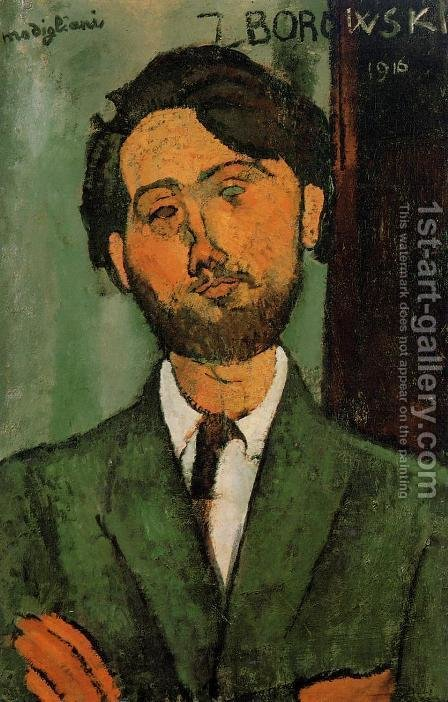 Leopold Zborowski by Amedeo Modigliani - Reproduction Oil Painting