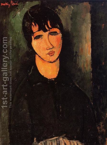 The Servant by Amedeo Modigliani - Reproduction Oil Painting