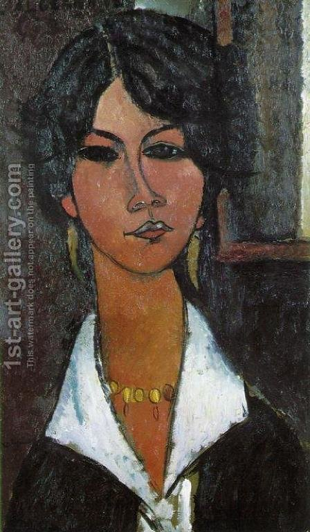 Woman of Algiers by Amedeo Modigliani - Reproduction Oil Painting