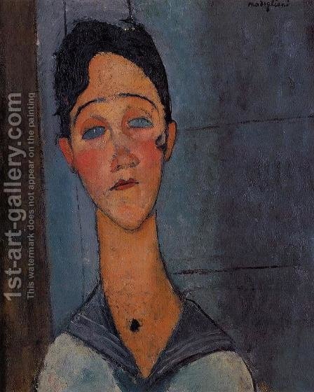 Louise by Amedeo Modigliani - Reproduction Oil Painting