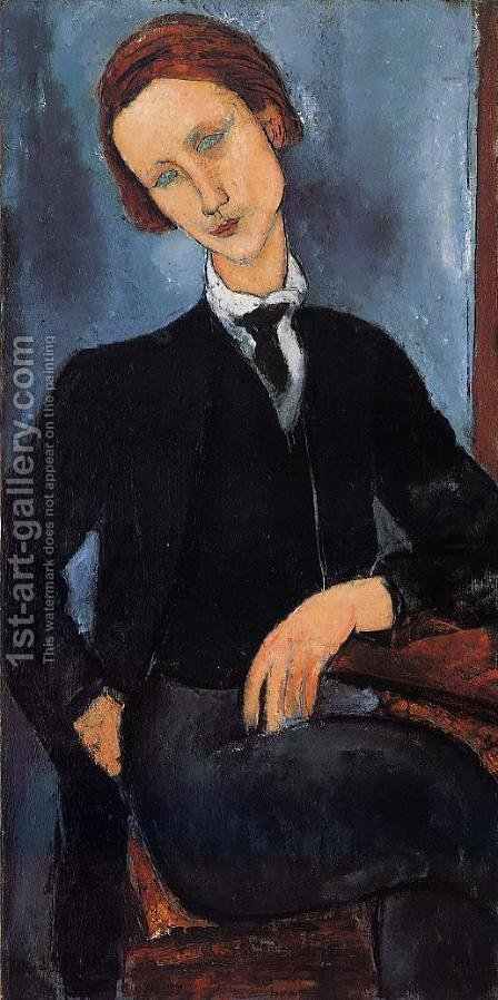 Pierre-Edouard Baranowski by Amedeo Modigliani - Reproduction Oil Painting
