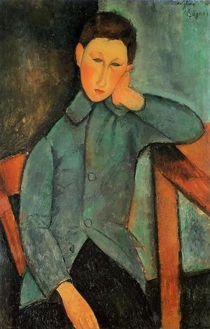 Reproduction oil paintings - Amedeo Modigliani - The Boy