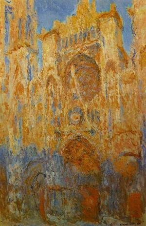 Reproduction oil paintings - Turner - Rouen Cathedral