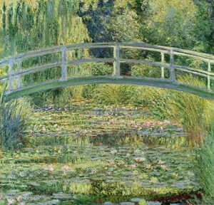 Famous paintings of Nautical: Water-Lily Pond I