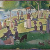 Oil painting reproductions - Nautical - Georges Seurat: A Sunday Afternoon on the Island of La Grande Jatte
