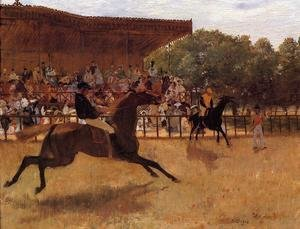 Famous paintings of Sport and Games: The False Start