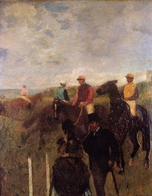 Famous paintings of Sport and Games: At the Races