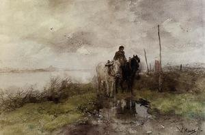 Reproduction oil paintings - Anton Mauve - The Country Road
