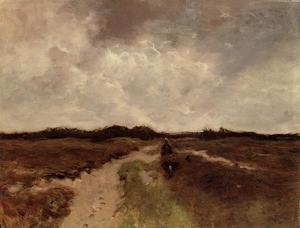 Reproduction oil paintings - Anton Mauve - Crossing the Heath