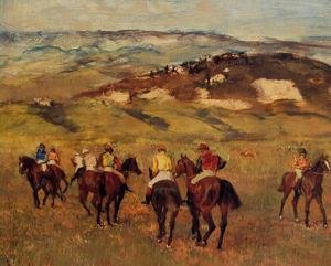 Famous paintings of Horses & Horse Riding: Racehorses I