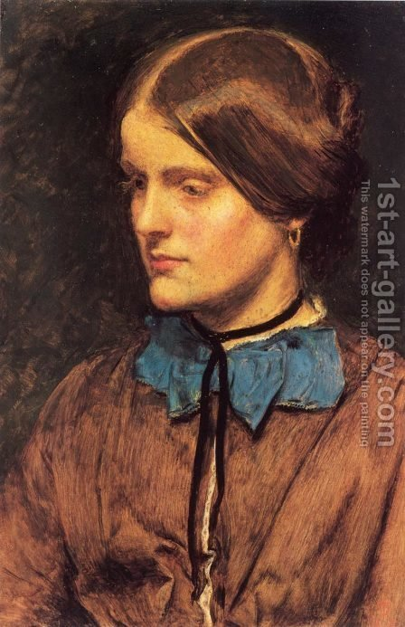 Annie Miller by Sir John Everett Millais - Reproduction Oil Painting