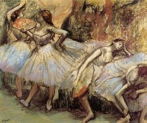 Famous paintings of Fans: Dancers III