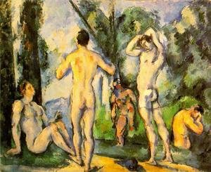 Reproduction oil paintings - Paul Cezanne - Bathers IV