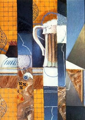 Reproduction oil paintings - Juan Gris - Beer Glass and Cards