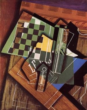 Reproduction oil paintings - Juan Gris - The Checkerboard