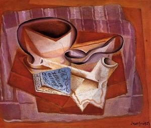 Reproduction oil paintings - Juan Gris - Bowl, Book and Spoon