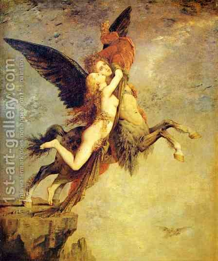 The Chimera I by Gustave Moreau - Reproduction Oil Painting