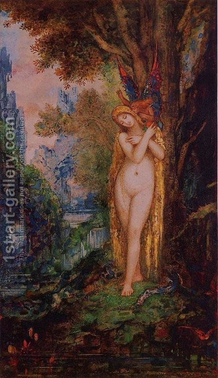 Eve by Gustave Moreau - Reproduction Oil Painting