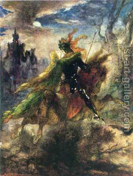 The Ballad by Gustave Moreau - Reproduction Oil Painting