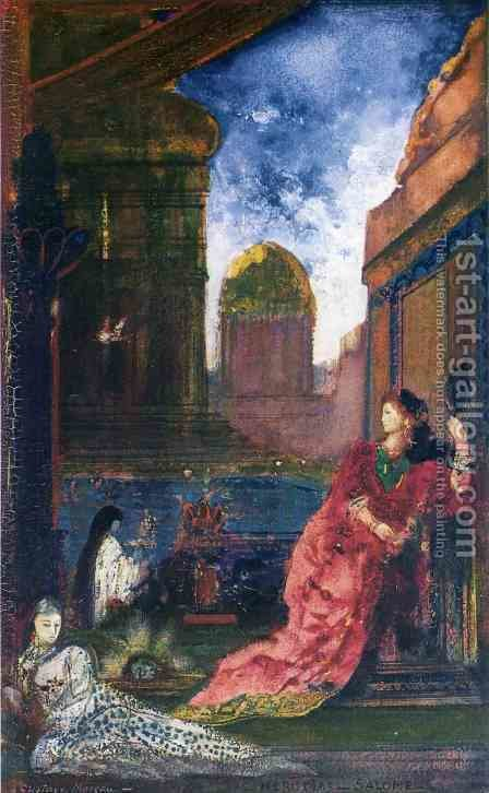 Heridias-Salome by Gustave Moreau - Reproduction Oil Painting