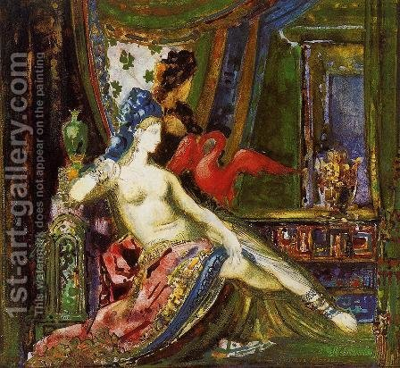 Dalila by Gustave Moreau - Reproduction Oil Painting