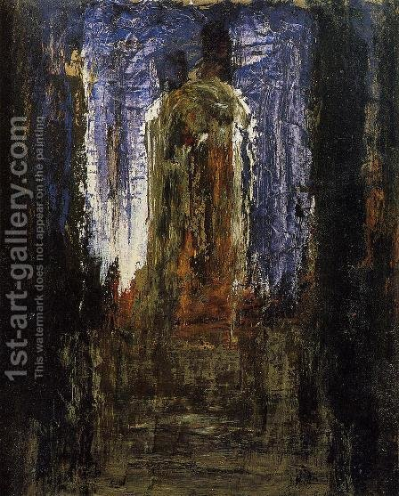 Abstract (study) by Gustave Moreau - Reproduction Oil Painting