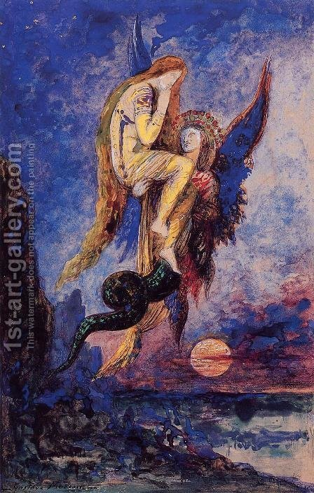 Chimera by Gustave Moreau - Reproduction Oil Painting