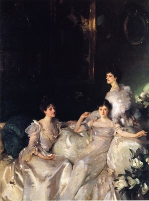 Reproduction oil paintings - Sargent - The Wyndham Sisters