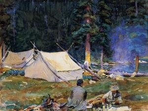 Camping at Lake O'Hara