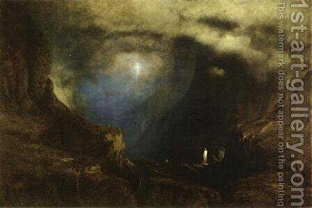The Valley of the Shadow of Death by George Inness - Reproduction Oil Painting