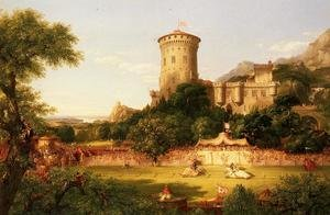 Reproduction oil paintings - Thomas Cole - The Past