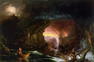 Reproduction oil paintings - Thomas Cole - The Voyage of Life: Manhood