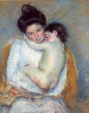Reproduction oil paintings - Mary Cassatt - Mother and Child V