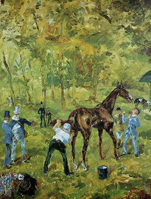 Reproduction oil paintings - Toulouse-Lautrec - Souvenir d'Auteuil