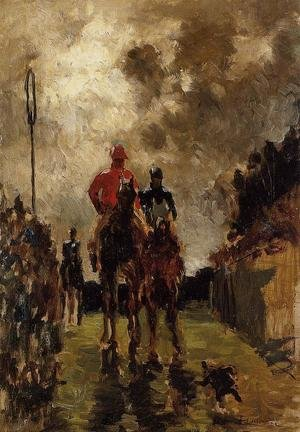 Reproduction oil paintings - Toulouse-Lautrec - Jockeys