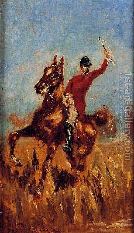 Master of the Hunt by Toulouse-Lautrec - Reproduction Oil Painting