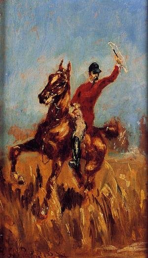 Reproduction oil paintings - Toulouse-Lautrec - Master of the Hunt