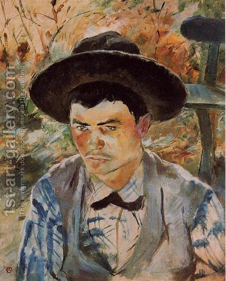 The Young Routy in Celeyran by Toulouse-Lautrec - Reproduction Oil Painting