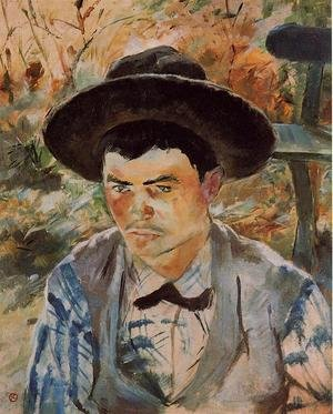 Reproduction oil paintings - Toulouse-Lautrec - The Young Routy in Celeyran