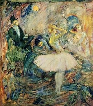 Reproduction oil paintings - Toulouse-Lautrec - The Dancer in Her Dressing Room