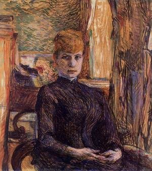 Reproduction oil paintings - Toulouse-Lautrec - Madame Juliette Pascal