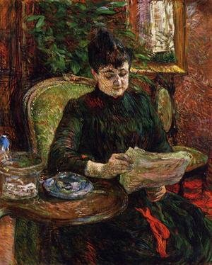 Reproduction oil paintings - Toulouse-Lautrec - Madame Aline Gibert