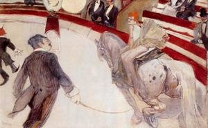 Reproduction oil paintings - Toulouse-Lautrec - At the Cirque Fernando: The Ringmaster
